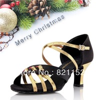 2013 gold color Free Shipping Brand New Women's Ballroom /Latin/ Tango Dance Shoes