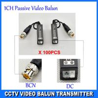 Twisted BNC CCTV Video Balun passive Transceivers UTP Balun BNC Cat5 CCTV UTP Video Balun up to 3000ft Range  DS-UP0113D-T