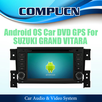 Pure Android 2.3 OS HD 1080P 3G WiFi Car DVD GPS Navi Radio Headunit For SUZUKI GRAND VITARA 2006-2012, FREE Shipping+Map+Gift