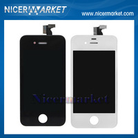 20pcs/lot Replacement LCD Touch Screen Digitizer Assembly For iphone 4 4S White Black
