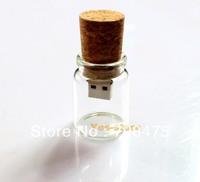 Cute Glass Bottle Memory Flash USB Drive 1GB 2GB 4GB 8GB 16GB Real Capacity