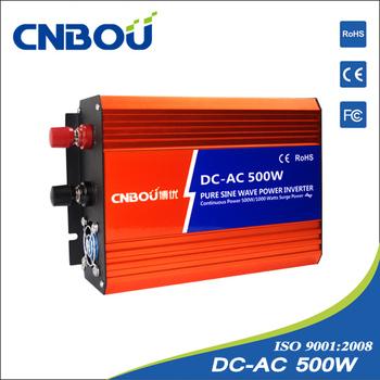 500W DC Input 24V AC Output 110v Pure Sine Wave  Inverter