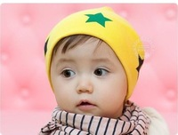 New Cute colored knitted cap for 6month-3years babies,10pcs/lot