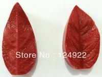 Free Shipping Cake Decorating Tools,1PCS  Leaf chocolate silicone cake decorating fondant mold tools
