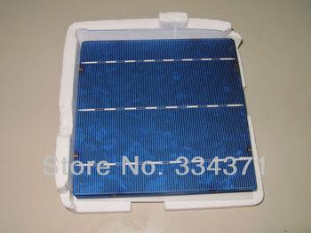 255pcs total 1000W Grade A 6x6 Untabbed Solar Cells Diy for Solar  Panel