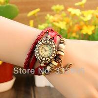High Quality Women Genuine Leather Eagle Retro Watch Bracelet Quartz Watches Ladies Vintage Dress Watch Female Casual Wristwatch