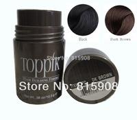 Brand Toppik Natural Keratin Building Hair Fibers Powder Men Women Thinning Loss Restore Conceal Refill 10.3g Black/Dark Brown
