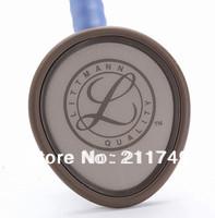 Free shipping Double Sided 3M Littmann Lightweight II S.E. Stethoscope Professional,medical Stethoscope, Ceil Blue Tube, 2454