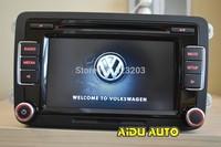 VW Car Radio Stereo RCD510 Original  Radio With Code For VW Golf 5 6 Jetta CC Tiguan Passat Support USB and RVC Camera