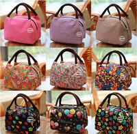 Free shipping! 16 Color New fashion canvas lunch bag lady women casual handbag totes Travel wash bag gift bag good quality style