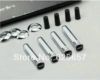 Car body parts, Modified Metal Car Door Lock Pin Fits for Mercedes Benz (AMG)
