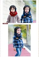 1pc free shipping cuty fashion pretty colorful kid's winter scarf muffler neckwarmer ,two colors