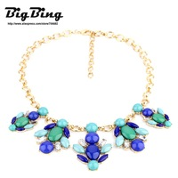 BigBing Fashion fashion jewelry vintage elegant medium-long crystal choker  necklace  Free shipping N620