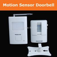 New Wireless PIR motion sensor Door Bell Waterproof sensor detector Driveway Safety Alarm bell chime DoorBell