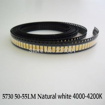 200pcs/lot SMD 5730 LED 5730 LED Lamps Chip, 50-55lm LED Diode 12V, Light-Emitting Diodes 5730 for LED Light Natural White/White
