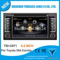 Timeless-long A8 Chipset 3G WiFi Car DVD Player For Toyota Corolla Hilux Zelas Previa Vios Prado Matrix Land Cruiser FJ With GPS