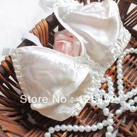 Wholesale ZQ-1 High Quality Luxury 100% Pure Silk Bra Thin Bra Middle&Old Women Fashion Soft Underwear Big Size Free Shipping