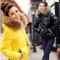 New 2014 Fashion Parkas Winter Female Down Jacket Women Clothing Winter Coat Color Overcoat Women Jacket Parka Free shippingC900