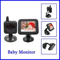 "Baby Monitor Wireless Digital Camera DV Recorder With Audio Transmission 3.5"" Colour LCD Screen Night Vision Free Shipping"