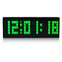 Mechanical Clocks LED Digital table atmos Clock Display Wall Clock Alarm Clocks  Free Shipping