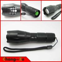 A100 flashlight XM-L T6 2000 Lumens High Power Flashlight! Genuine T6 flashlight mini flashlight beam 500 m--Outdoor equipment