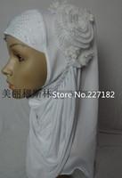 free shiping muslim bandanas flower  viscose embossed fashion hijab multicolor  Muslim headscarf for islamic women A1402