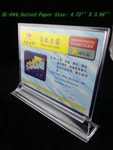 table menu holder promotion
