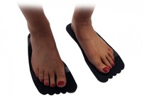 FREE EMS SHIPPING AIRBRUSH SUNLESS TANNING STICKY FEET TANNING TENT BLACK STICKY FEET 500pairs