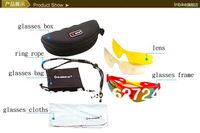 Free shipping Sunglasses Outdoor Sports Windproof  Bicycle  glasses BLACK