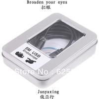 Free shipping,New Arrival Mini 5M USB 2.0 Waterproof Endoscope Borescope Snake Inspection Camera 5M,10mm Lens 2 pcs/lot