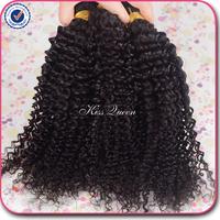 New arrival 6a peruvian kinky curly virgin hair 4 bundles free shipping 100% peruvian virgin hair human hair weave no tangle