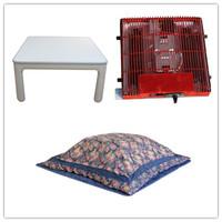 (4pcs/set ) Free shipping Kotatsu living room sets stay warm in japanese fold table75cm  foot warmer Kotatsu Table futon heater