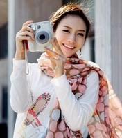 2014 New Style Dot Print Scarf Women Long Cotton Scarf Fashion Korean Silk Scarves Shawl