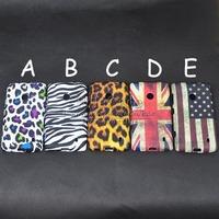 Color Leopard Zebra UK USA Flag Pattern Soft TPU Case  For Nokia Lumia 520 Back Cover Skin phone cases bags