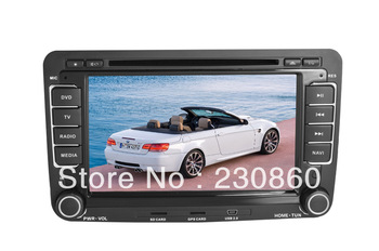 7 InchVW Jetta Car DVD GPS Navigation System  Radio+AUS+USB/SD+Free map card