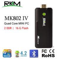 xbmc!Quad core Android 4.4 RK3188 2G DDR3 16G ROM Bluetooth HDMI [MK802IV/16G]With an USB HUB & USB LAN adapter as free gift