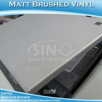 "60x152CM 24""x60"" Free Shipping Brushed Gold/Silver/Grey/Black Aluminum Covering Car Vinyl Foil"