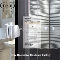 DSM Precision Cast Zinc Alloy Bathroom Glass Door Pull Handle Chrome PA-830-L80mm