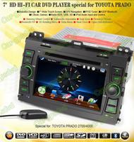 Toyota Prado 120 /2700/4000 GPS Navigation DVD Player ,TV,Multimedia Video Player system+Free GPS map+Free camera+ Free shipping