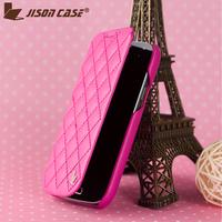Luxury Folio Flip Case For Samsung Galaxy S4 Mini i9190 1Pcs HK Post Fully Protection For S4 Mini Fashion Defender