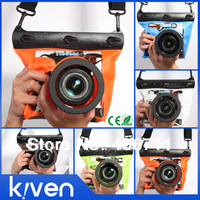 GQ-518M/ k-518ML PVC+ABS Camera Waterproof Underwater Housing Case Pouch Dry Bag Waterproof Cover For Nikon Canon Bag
