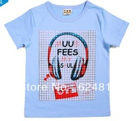 2013 New style children t shirts wholesale Cotton summer kids boys short sleeve shirts  children t-shirt boys clothes  8130035
