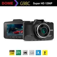 "Car DVR G98 Ambarella A7 LA70 GPS Logger Car Video Recorder 2.7""LCD 1296P/30FPS 170 Degree with G-Sensor HDR"