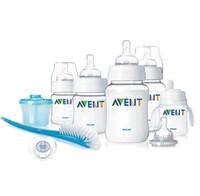 Professional anti-colic Avent new newborn BPA Free Baby milk nursing feeding bottle sets PP material 8pcs/set Free shipping