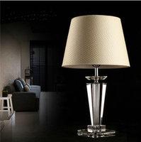 Minimalist modern European luxury fashion creative crystal table lamp bedroom lamp bedside lamp table lamp td46