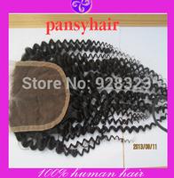 Jerri Human Hair Curly 4x4 Closure Premium Now Hair Brazilian Curly Kinky Human Hair Virgin Brazilian Hair Kinky Curly 1 Pc Lace