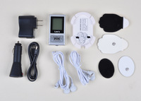 Free Shipping High Quality Electronic LCD Pulse Digital Tens Acupuncture Massager Therapy Full Body Machine Device[YL316]