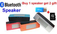 2014 New Wireless HIFI Portable wireless  mini Bluetooth Speaker double subwoofer loudspeakers music speakers sound boombox