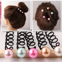 Free shipping Hair accessory  Small parel Spiral Hair Clip Barrette Pin / Rotating Hairpin 10pcs