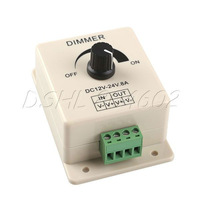New 12-24V 8A Lamp Strip Dimmer Brightness For MR16 LED Spot Light